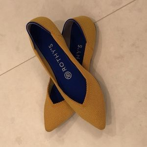 Rothy's The Point in Marigold Size 6.5